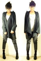 misha jacket - weekday t-shirt - misha pants