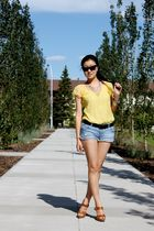 Forever 21 shirt - Forever 21 shorts - Zara shoes
