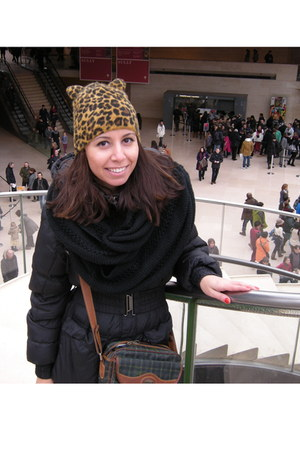 H&M hat - Terranova coat - H&M scarf