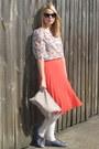American-apparel-bag-cats-eye-asos-sunglasses-floral-american-apparel-blouse