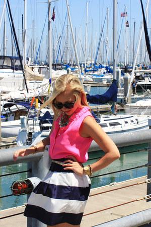 J Crew skirt - J Crew blouse