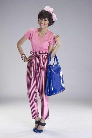 pink iconia top - pink ICONIA pants - blue iconia - purple iconia - blue putris