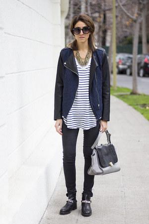 Misslittletouch bag - Zara boots - Misslittletouch accessories