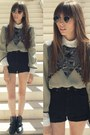 Charcoal-gray-leather-bag-zara-boots-white-basic-massimo-dutti-shirt