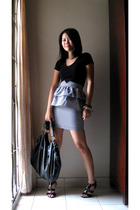 Forgot top - velvet-ribbon skirt - uk accessories - bangkok shoes - uk bracelet