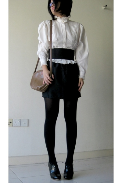 blouse - skirt - leggings - accessories - shoes