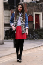 Topshop jacket - asos skirt