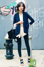 Blue-misspouty-blazer-black-trapeze-celine-bag-eggshell-misspouty-top