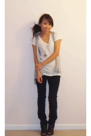 Forever 21 shirt - Urban Outfitters vest - Hot Kiss jeans - Madden Girl shoes