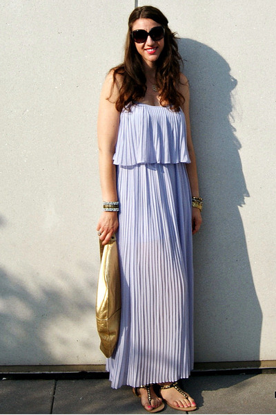 Maxi Dresses Pleated Maxi Dress Forever 21