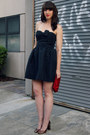 Strapless-bow-red-valentino-dress-satin-clutch-j-crew-bag