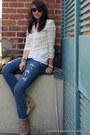 Boyfriend-j-crew-jeans-tassel-mcginn-jacket-metallic-alison-burns-bag