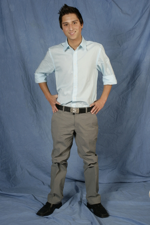 Express Men shirt - D&G Imitation belt - Armani Exchange pants - Stacy Adams sho