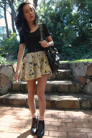 skirt - shirt - socks - shoes