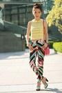 Yellow-forever-21-top-hot-pink-prada-bag