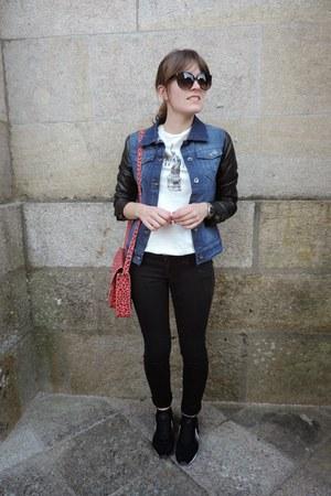 black denim Shana jacket