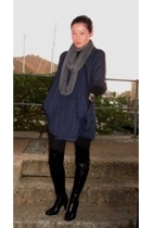 Country Road scarf - San Marina boots - top
