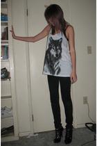 jeans - top - shoes