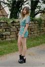 Aquamarine-missguided-shorts-aquamarine-missguided-top