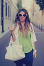 Bicolor-sugarlips-dress-cat-eye-romwe-sunglasses-silver-cuffs-nelly-bracelet