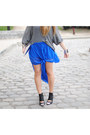 Blue-transparent-primark-skirt-black-peek-shoes-nowhere-shoes
