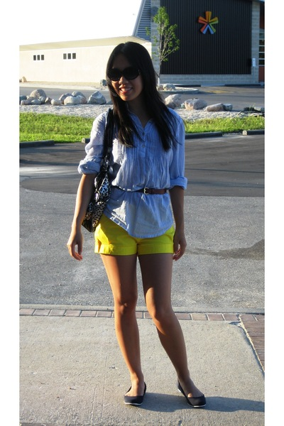 H&M shirt - shorts - joe fresh style shoes