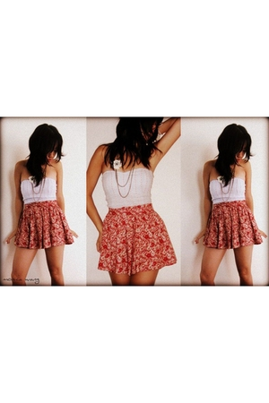 forever 21 skirt - le chateau top