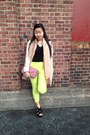 Off-white-zara-coat-bubble-gum-justfab-bag