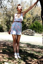 American Apparel socks - vintage from Ebay romper - American Apparel belt - ferr