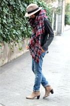 Zara scarf - COS jumper