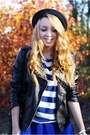 Black-sheinside-jacket-black-h-m-shoes-dark-gray-romwe-hat