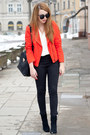 Black-h-m-shoes-red-sheinside-jacket-black-etorba-bag