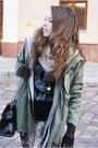 Army-green-romwe-jacket-black-czasnabuty-boots-beige-stradivarius-leggings