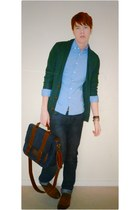 teal River Island cardigan