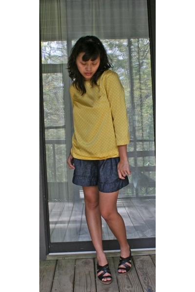 Target top - Forever21 shorts - seychelles shoes - forever 21 accessories