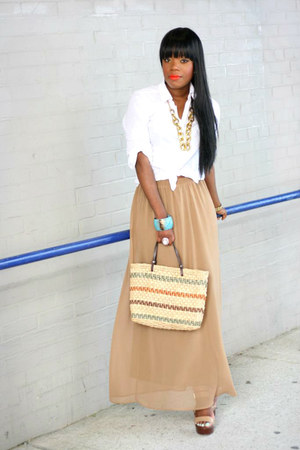 f21 shirt - f21 skirt