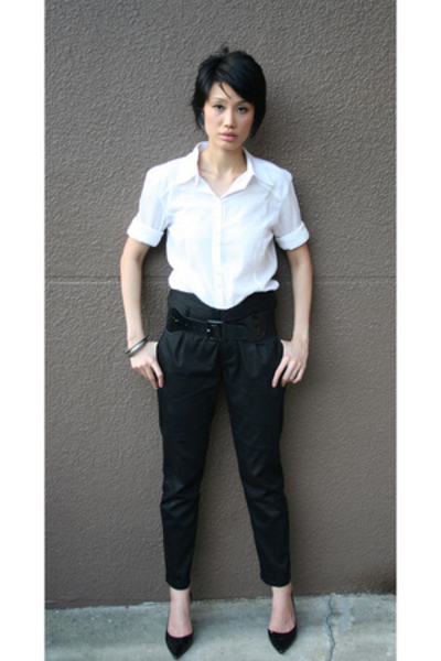 DAO pants - MNG shirt - Nine West shoes