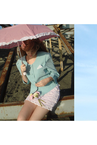 JC Tokyo blazer - JC Tokyo skirt - JC Tokyo accessories