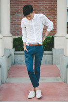 white matthew williamson x h&m shirt - off white j shoes shoes