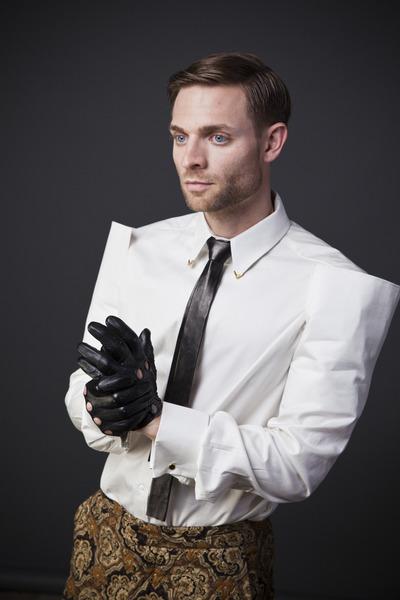 white Joshua Christensen shirt