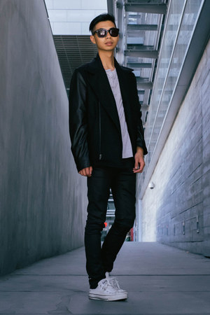 black rose Daniel Wellington watch - black Cult of Individuality jeans