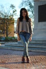 Pamela-love-x-nine-west-boots-current-elliott-jeans-erin-wasson-x-rvca-top
