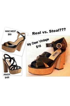 My Dear Vintge heels