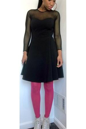 lbd My Dear Vintage dress - Jeffrey Campbell boots