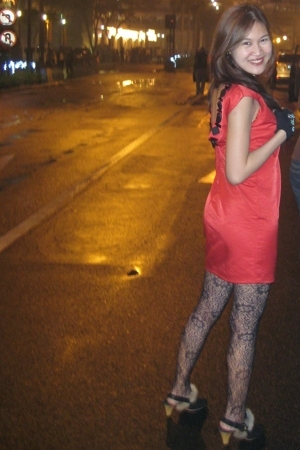HDY dress - stockings - shoes