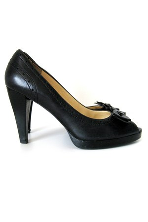 black Ralph Lauren pumps