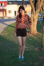 shirt - shorts - confessions Melissa loafers