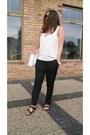 White-parfois-bag-black-h-m-pants-white-zara-top