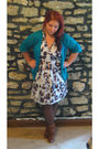 Blue-victorias-secret-cardigan-tag-missing-dress-tights-brown-forever-21-b