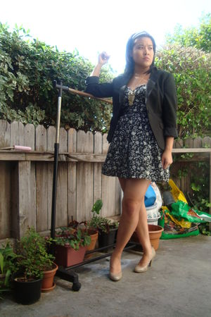 Express blouse - Forever21 accessories - Steve Madden shoes - Forever21 dress